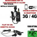 MICROTELECAMERA WIFI 3G DIRETTA VIDEO VISIONE NOTTURNA MICROSPIA SPYCAM LIVE IP