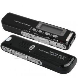 REGISTRATORE VOCALE , TELEFONICO 8 GB AUDIO RECORDER OCCULTABILE