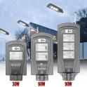 FARO LED LAMPIONE STRADALE FOYU LUCE FREDDA ENERGIA SOLARE CON TELECOMANDO