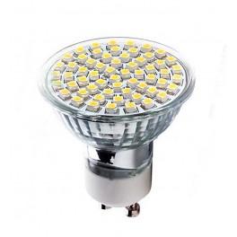KIT 6 LAMPADINE LED GU10 5W LUCE CALDA AC220-240V 400 LUMEN 2700-3000k