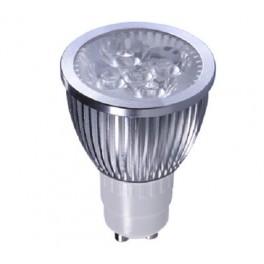 KIT 6 LAMPADINE LED GU10 5W LUCE FREDDA 220-240V 400 LUMEN 6400K