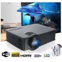PROIETTORE WIFI WIRELESS ANDROID 1080p FULL HD HDMI USB VGA COMPATIBILE 1200 LUMEN
