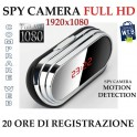 SVEGLIA OROLOGIO SPIA SPY CAMERA 1920x1080 MOD. V9 MOTION DETECTION TELECAMERA MICROSPIA MICRO CAMERA
