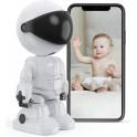 ROBOT CAMERA WIFI TELECAMERA IP BABY MONITOR SENZA FILI VIDEOSORVEGLIANZA SICUREZZA DOMESTICA