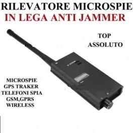 RILEVATORE DI MICROSPIE PROFESSIONALE SPIA AMBIENTALE, SPY SPIE CIMICI FREQUENZE RF RADIO