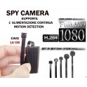 MICROSPIA SPY CAMERA SPIA FULL HD MOTION DETECTION TELECAMERA MICRO NASCOSTA MICROCAMERA