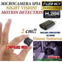 MICROSPIA SQ8 Spy Camera Spia FULL HD MOTION DETECTION TELECAMERA NASCOSTA MICROCAMERA