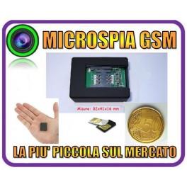 MICROSPIA AMBIENTALE GSM N9 TELEFONO VOX MINI MICRO SPIA LA + PICCOLA DI SEMPRE
